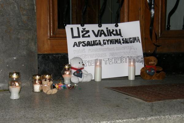 D.Kedžio palaikymo akcijoje Klaipėdoje neišvengta konfliktų