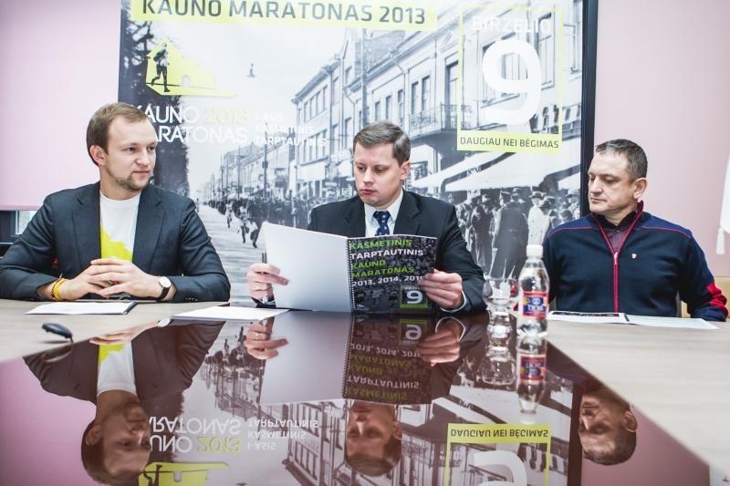 Pirmajame Kauno maratone bėgikai sieks naujo Lietuvos rekordo
