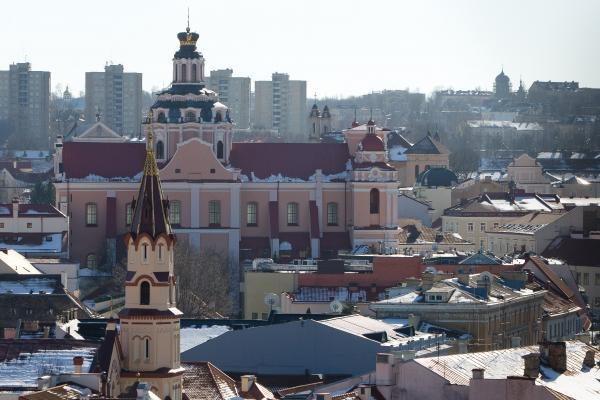 Tarp 15 populiarėjančių kelionių taškų - Vilnius