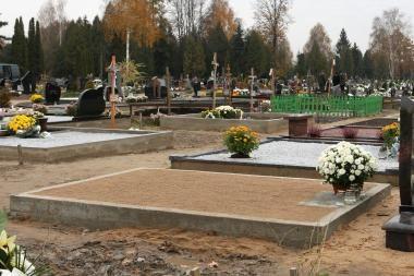 Iš Eigulių kapinių pavogtas paminklas už 3 tūkst. litų (papildyta)