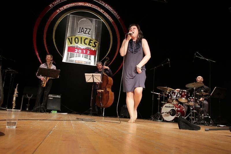 "XI ""Jazz Voices"" konkurso nugalėtojų laurai - lietuvėms"