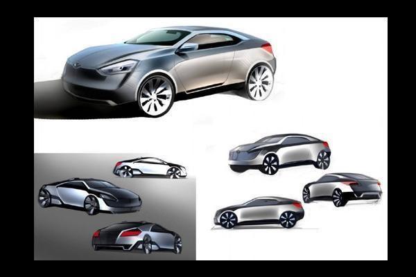 Rusijos kompanijos gamins hibridinį automobilį