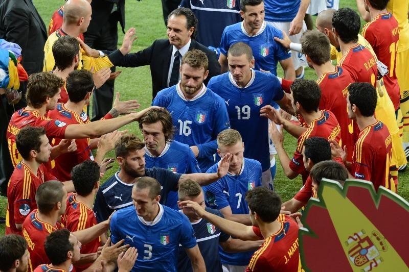 Intriguojantis pusfinalis: Italija - Ispanija (apžvalga)