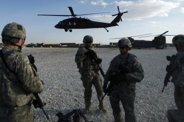 Lietuvos atkuriamoje Goro provincijoje turėtų būti dislokuoti Afganistano kariai