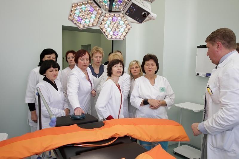 Klaipėdos vaikų ligoninėje atidaryta nauja operacinė