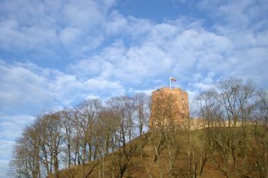 Sausio 1-ąją Gedimino pilies bokšte pakils nauja trispalvė
