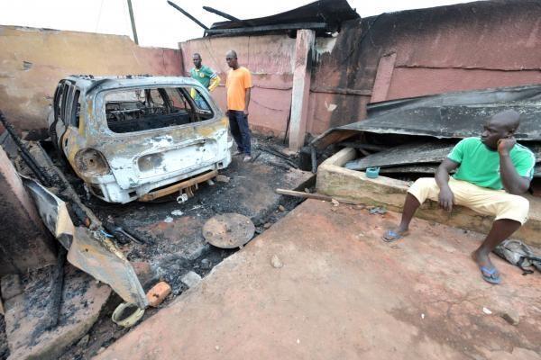 Dramblio Kaulo Krante opozicijos būstinėje nušauti aštuoni asmenys