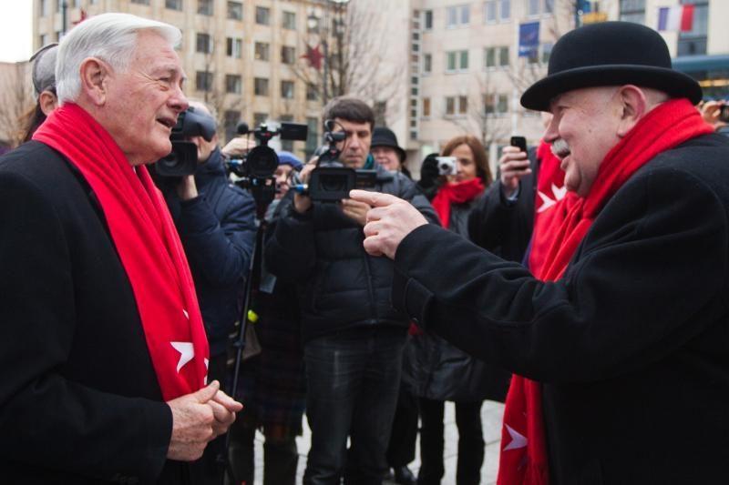 """Maltiečių sriuba"" vaišino prezidentas V.Adamkus"