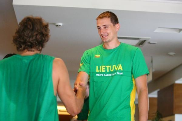 Lietuvos krepšinio rinktinė susirinko į pirmąją stovyklą