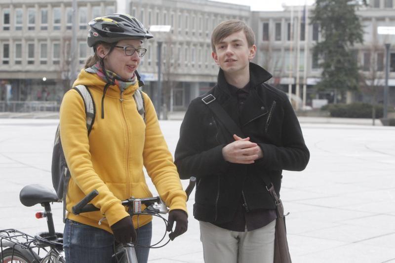 Gėjų lygos klipe Vilniuje filmuota lesbietė: noriu gyventi atvirai!