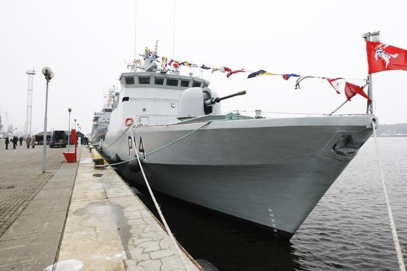 Lietuvos vandenyse vyks bendros Baltijos šalių karo laivų pratybos