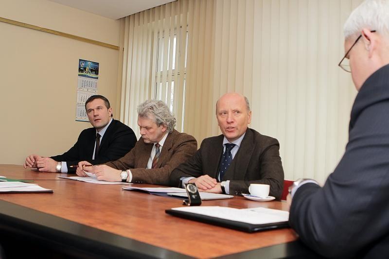 R.Palaitis: naujas komisariatas Klaipėdoje galėjo jau stovėti