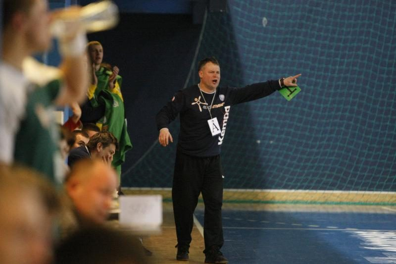 """""""Žemaitijos dragūnas"""" – Lietuvos rankinio lygos lyderis"""