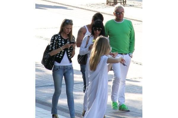 E.Bžeskas su nauja mylimąja atostogauja Palangoje