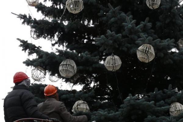 25 Kalėdų seneliai Kauno centre įžiebs dar dvi eglutes