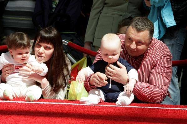 Kūdikių lenktynėse pirmavo mergaitės
