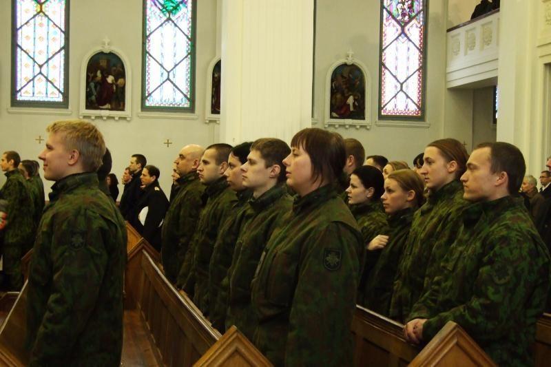 Klaipėdoje paminėtos 94-osios Lietuvos kariuomenės metinės