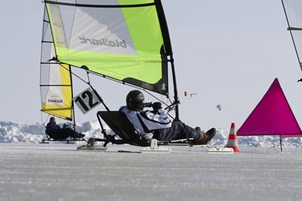 Ice-Blokart ledroges pasaulio čempionate geriausiai valdė šiauriečiai