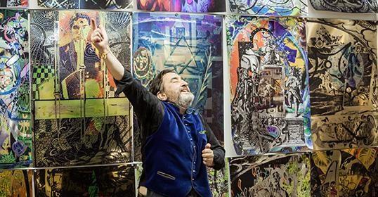 Jono Meko vizualiųjų menų centre - italų menininko paroda