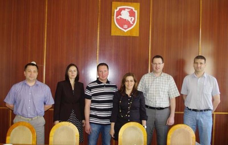 Klaipėdos policijos komisariate svečiavosi Kipro policijos atstovė