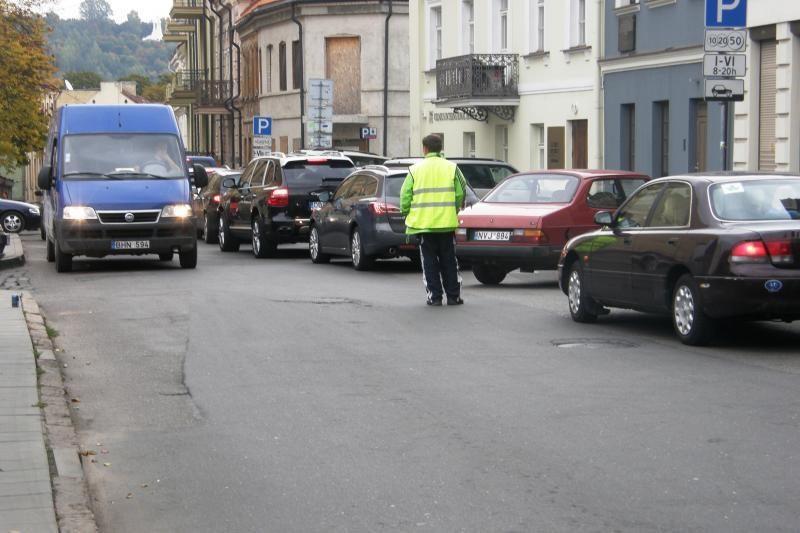 Eismo draudimas Klaipėdos g. kelia galvosūkius vairuotojams