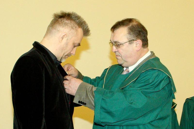 A. Mamontovas apdovanotas už santarvės puoselėjimą
