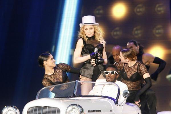 Latvijos prezidentui patiko Madonnos koncertas Taline