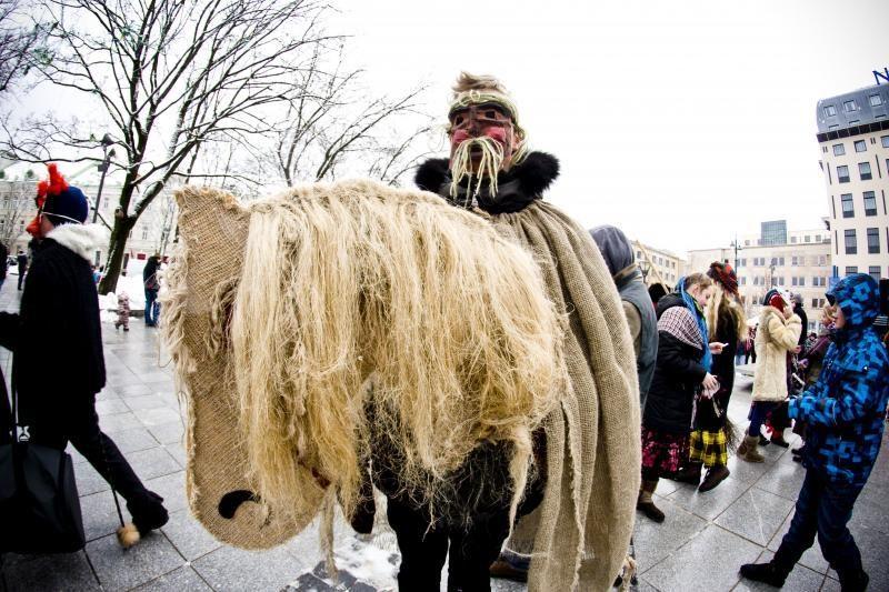 Vilnius ir Rumšiškės jau pradėjo švęsti Užgavėnes