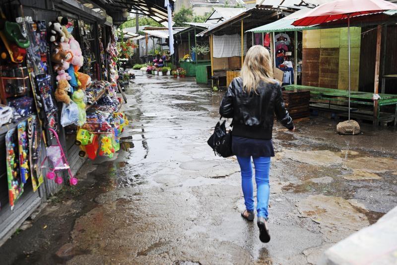 Karštis ir lietūs   neužaugino     grybų