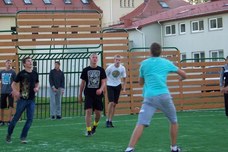 Naujoji sporto aikštė Šventojoje pelnė neregėtą pripažinimą