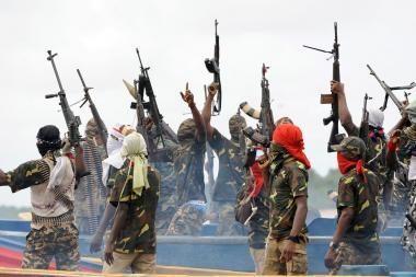 Nigerijos kaimuose kilus kovoms dėl žemės rasta 13 sudegintų lavonų
