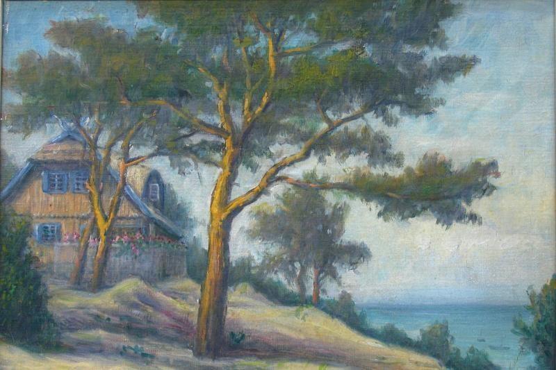 Dviejų seserų tapytojų iš senosios Klaipėdos sugrįžimas