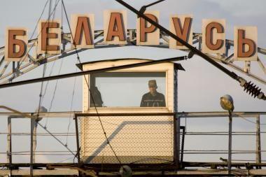 Baltarusijos pasieniečiai sulaikė ukrainietį su 16 trumpikių