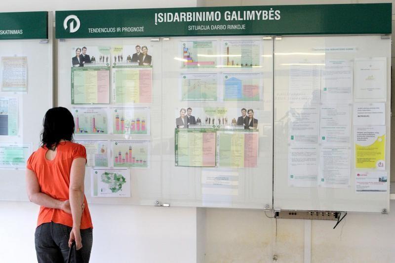 Kaune nedarbas mažėja, bet         lėtai