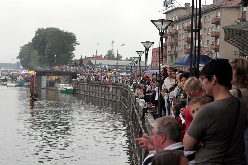 Renginiai į Klaipėdą turistų nepriviliojo