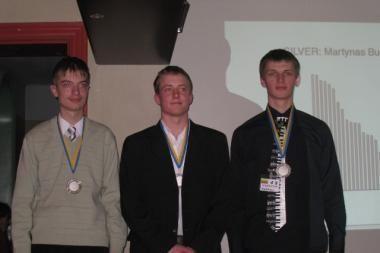 Klaipėdiečiui - Baltijos šalių informatikos olimpiados sidabras
