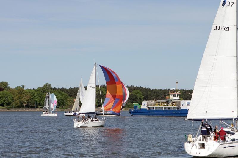 Trečiąjį Laivų paradą Klaipėdoje pradėjo regata
