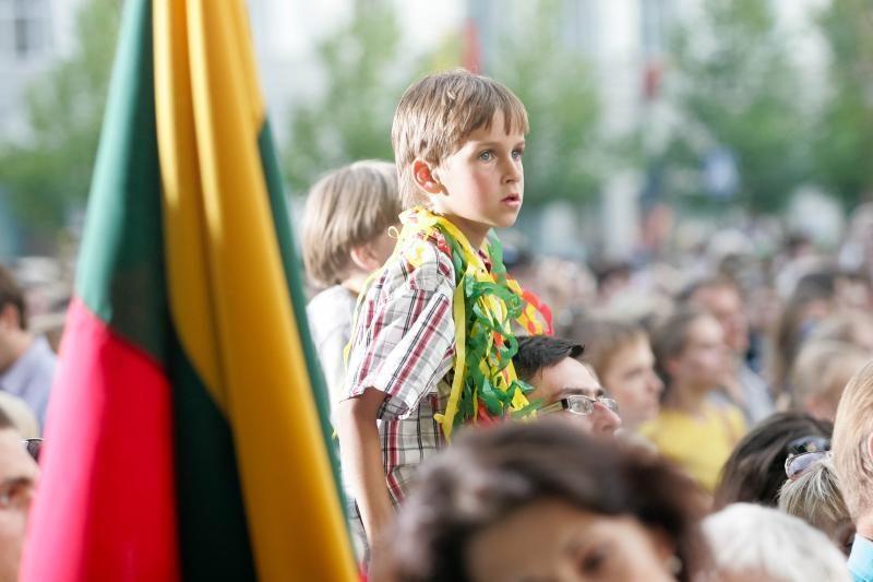 Per pasaulį nuvilnijo Lietuvos himnas