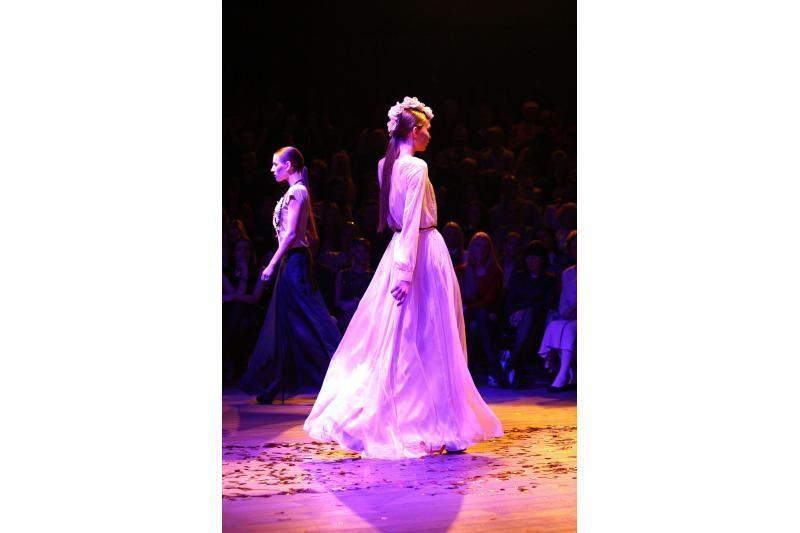 """""""Žalgirio"""" arenoje karaliavo mada: modeliais tapo N.Bunkė ir K.Nemycko"""