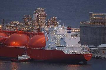Šiaurės jūroje tanklaivis susidūrė su konteinerių laivu