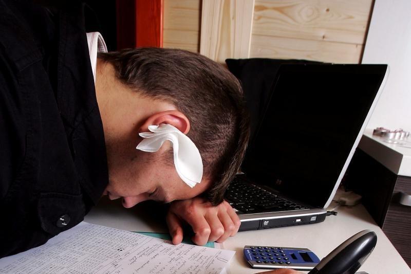 Prastas miegas gali signalizuoti apie prasidedančias rimtas psichikos ligas