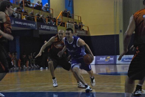"""""""Neptūnas"""" suklupo prieš Donecko ekipą"""
