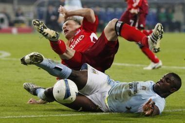 Pirmasis Anglijos futbolo čempiono pralaimėjimas šalies pirmenybės