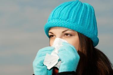 Kokią problemą atskleidė gripo epidemija?