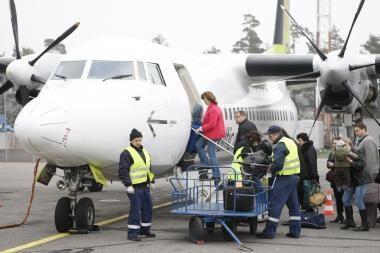 """Rugpjūtį su """"airBaltic"""" skrido penktadaliu daugiau keleivių"""