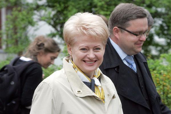 Prezidento rinkimų rezultatai: klaipėdiečiai balsavo už D.Grybauskaitę (papildyta 8.36 val.)