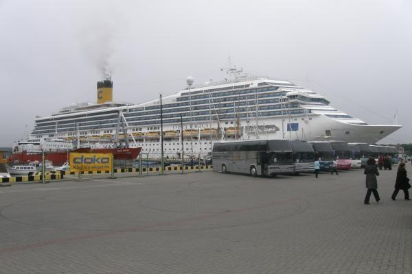 """Klaipėdoje – didžiausias šiemet kruizinis laivas """"Costa Magica"""""""