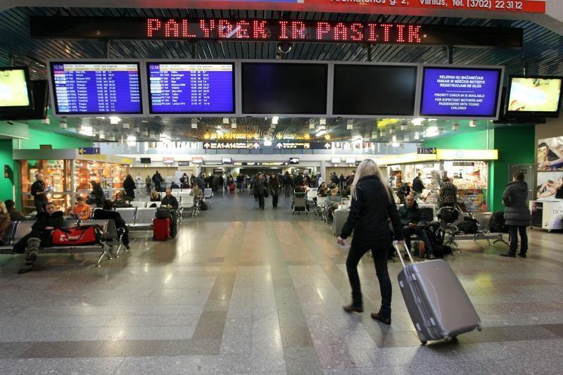 Iš Dublino per Vilnių skrendantys keleiviai bus tikrinami papildomai