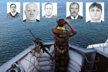 Pagrobtų Lietuvos jūrininkų ieškojo ir Interpolas
