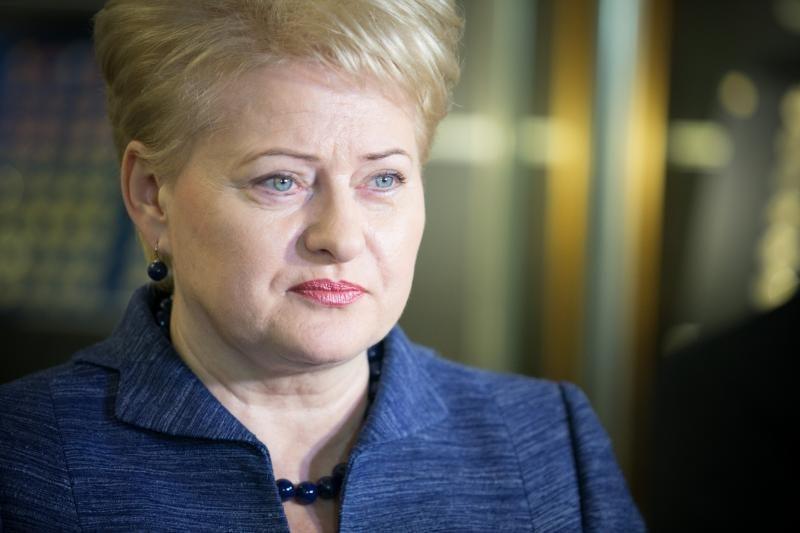 D.Grybauskaitė pasiryžusi pakeisti Lietuvos priklausomybę nuo Rusijos